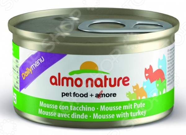 almo nature DailyMenu Mousse with Turkey 39522