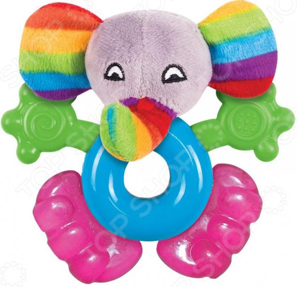 Погремушка-прорезыватель Happy Snail «Джамбо»