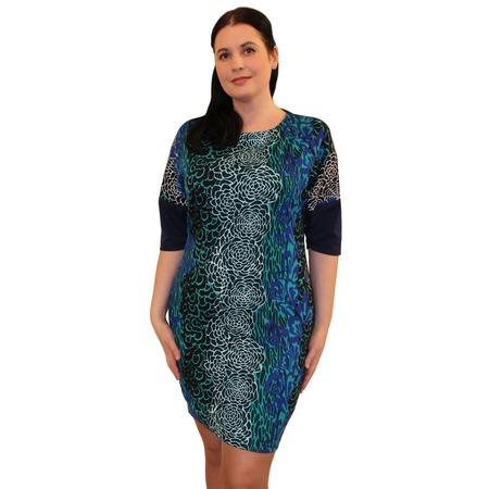 Купить Платье Klimini «Альба». Цвет: синий