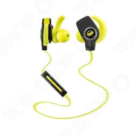 Гарнитура беспроводная MONSTER iSport SuperSlim Bluetooth Wireless невероятно удобные наушники, которые не доставляют дискомфорта. Это прекрасное сочетание качественного звучания, стильного дизайна и удобства использования. Наушники прекрасно подходят как для занятий спортом, так и для пеших прогулок. От того и звучание в любых условиях будет мощным, четким, без сопровождения посторонних шумов. И наслаждаться музыкой можно будет, где угодно. Благодаря небольшому весу слушать музыку можно часы напролет, при этом голова не будет ощущать тяжести и уставать до 5 часов автономной работы . Преимущества:  Полная зарядка 1,5 часа,  стойкие к действию пота,  пульт управления музыкой и вызовами,  радиус действия 15 м,  моющиеся сменные насадки.