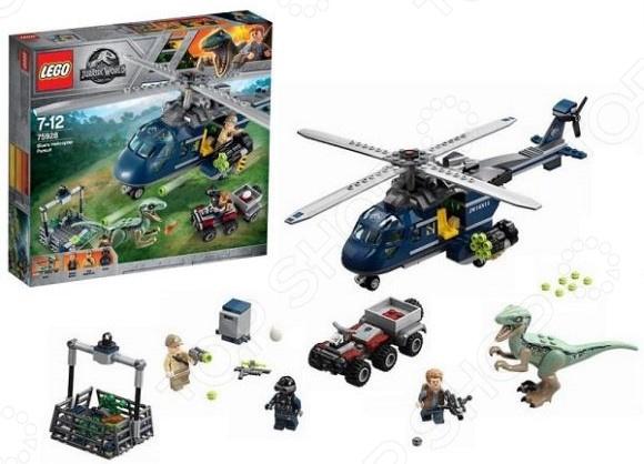 Конструктор игровой LEGO «Погоня за Блю на вертолете» конструктор lego погоня за блю на вертолёте 75928