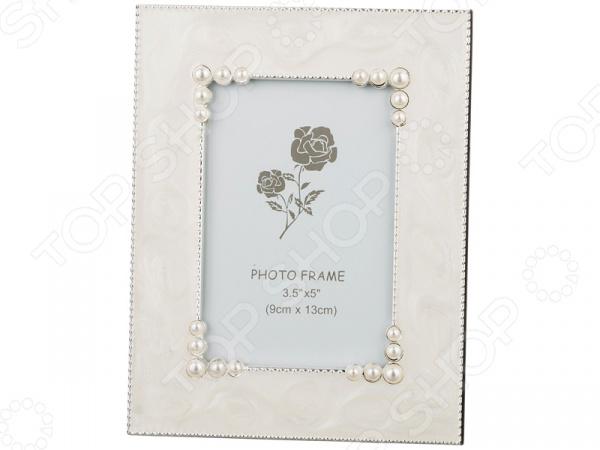 Фоторамка 363-005 рамка для фотографий в подарочной упаковке elff ceramics цвет серебряный металлический