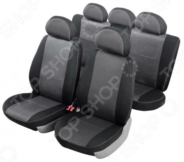 Набор чехлов для сидений Senator Dakkar Volkswagen Polo 2009 раздельный задний ряд комплект чехлов на весь салон senator dakkar s3010391 renault duster от 2011 black