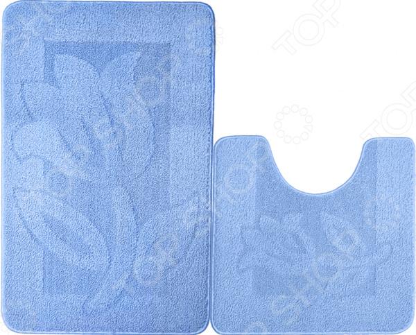 Набор ковриков для ванной комнаты Kamalak textil УКВ-1030