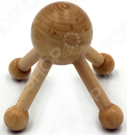 Массажер для тела Gess WoodSprut массажер gess kragen gess 012