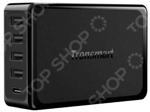 Устройство зарядное сетевое Tronsmart с четырьмя портами Volt IQ и USB PD