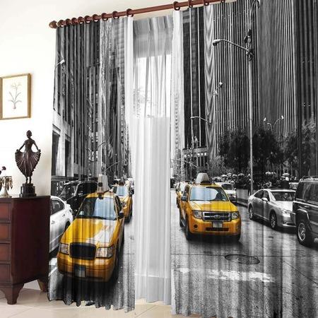 Купить Фотошторы ТамиТекс «Такси»