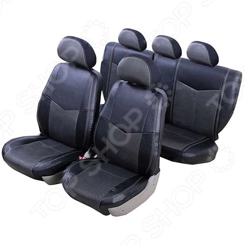 Набор чехлов для сидений Senator Verona Mitsubishi Lancer X 2007