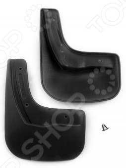 Брызговики задние Novline-Autofamily Citroen / Peugeot C-Elysee / 301 2013