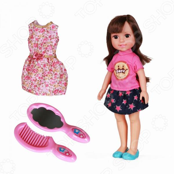 Кукла с аксессуарами Yako Jammy 1724493 куклы и одежда для кукол весна озвученная кукла саша 1 42 см