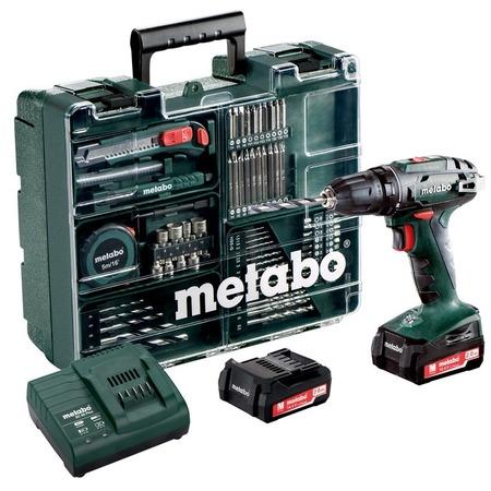 Купить Дрель-шуруповерт аккумуляторная Metabo BS 14.4 с набором оснастки