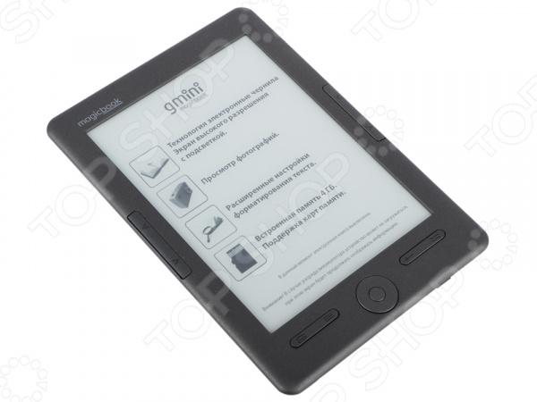 Книга электронная Gmini MagicBook W6LHD электронная книга gmini magicbook t6lhd lite graphite