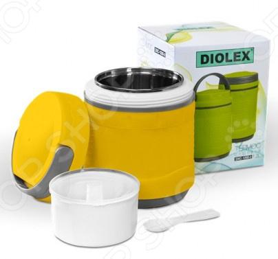 Термос пищевой Diolex DXС-1200-2-Y термос diolex 1 2l dxc 1200 2 b