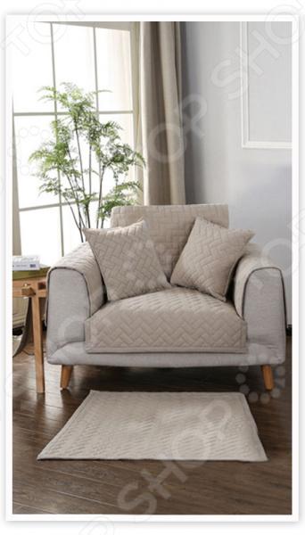 фото Комплект накидок на кресло Медежда «Корфу», Чехлы на кресла