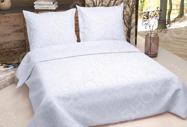 Zakazat.ru: Комплект постельного белья Текстильная Лавка «Мирослава» 5032. Цвет: бледно-сиреневый. 2-спальный