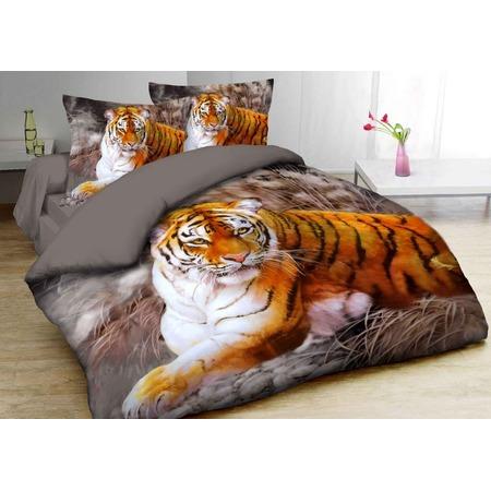 Купить Комплект постельного белья Mango «Тигр». 2-спальный