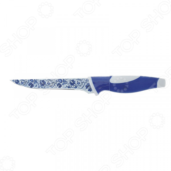 Нож Miolla разделочный «Гжель»