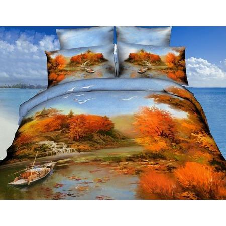 Купить Комплект постельного белья Mango «Осень». 2-спальный