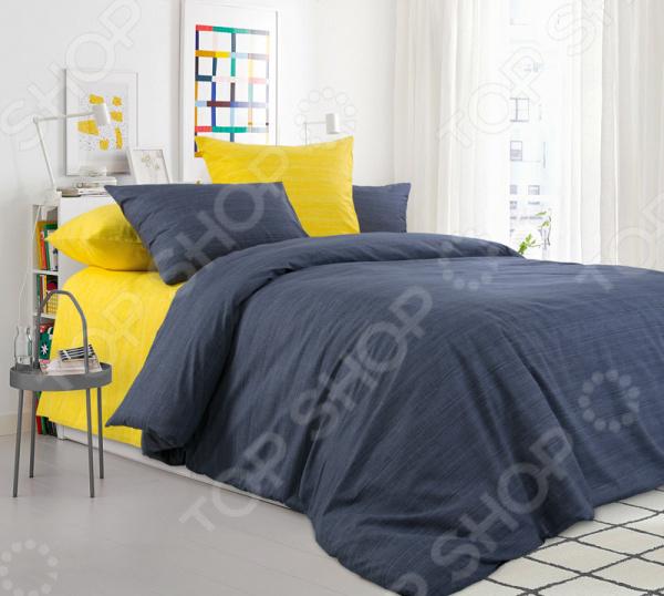 цена Комплект постельного белья ТексДизайн «Солнечный дождь» онлайн в 2017 году