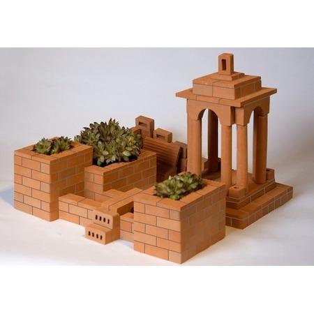 Купить Конструктор из глины Brick Master «Садик»