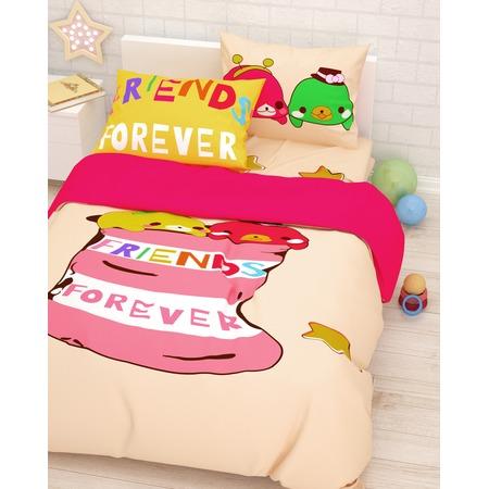 Купить Детский комплект постельного белья Сирень «Лучшие друзья»