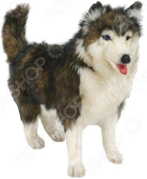 Мягкая игрушка Hansa «Хаски» как уговорить маму собаку хаски