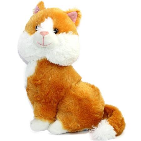 Купить Мягкая игрушка со звуком Bradex «Кошечка»