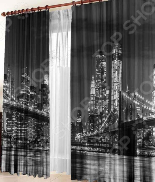 Фотошторы ТамиТекс «Бруклинский мост»