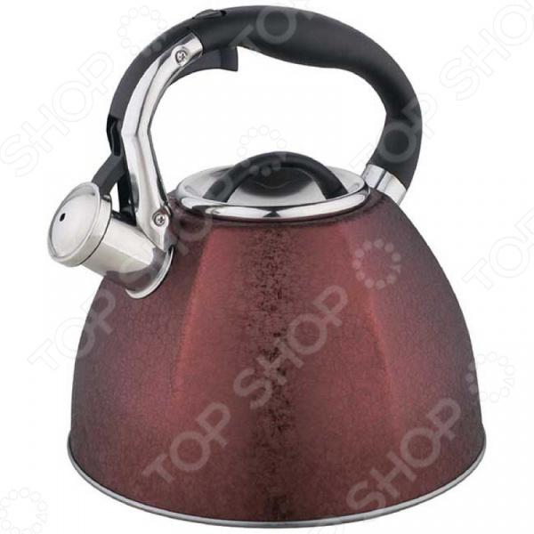 Чайник со свистком Zeidan Z-4216 чайник со свистком zeidan z 4184 чаепитие