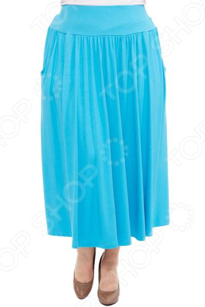 Юбка Laura Amatti «Изабелина». Цвет: голубой юбка laura amatti изабелина цвет бордовый