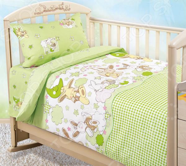 Ясельный комплект постельного белья Бамбино «Соня»