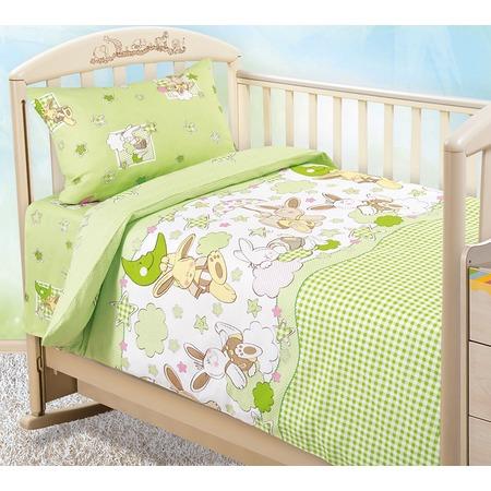 Купить Ясельный комплект постельного белья Бамбино «Соня»