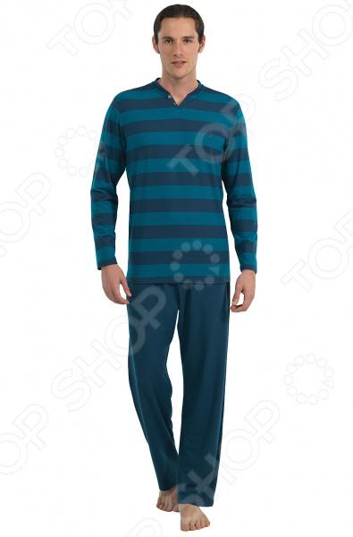 Комплект домашний мужской BlackSpade 7542. Цвет: синий
