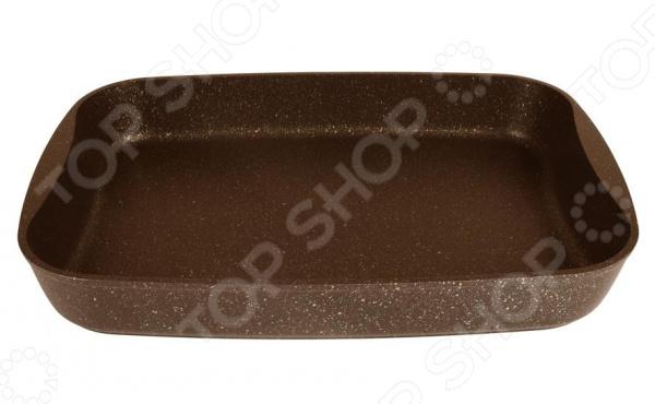 Противень Kukmara «Кофейный мрамор» сковорода d 24 см kukmara кофейный мрамор смки240а