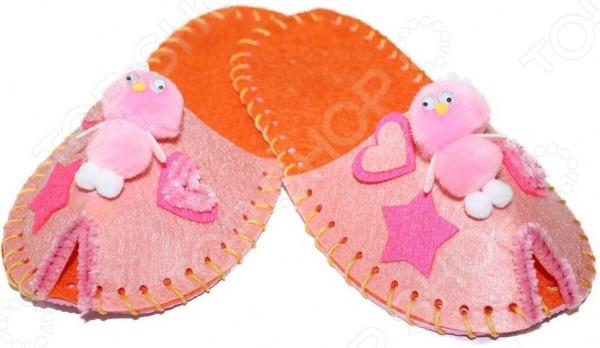 Набор для шитья из фетра Bradex «Цветок». Цвет: розовый Набор для шитья из фетра Bradex «Цветок». Цвет: розовый /