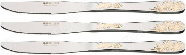 Набор ножей Agness 922-235 купить в иванове посуду из нержавеющей стали