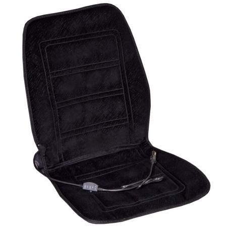 Купить Накидка на сиденье с подогревом и терморегулятором SKYWAY «Тонкие полоски» матовое