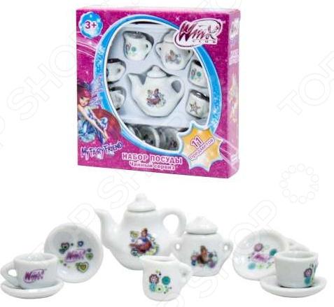 Набор посуды из фарфора 1 Toy Т56344 набор посуды игрушечный 1 toy чайный сервиз