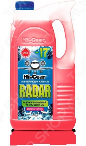 Жидкость незамерзающая для стеклоомывателя Hi Gear Radar-17 отмывочная жидкость solins degreaser 400ml от жира и масла аэрозоль