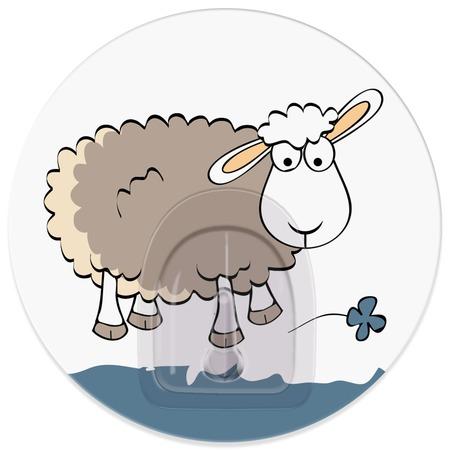 Купить Крючок Tatkraft Funny Sheep Tela