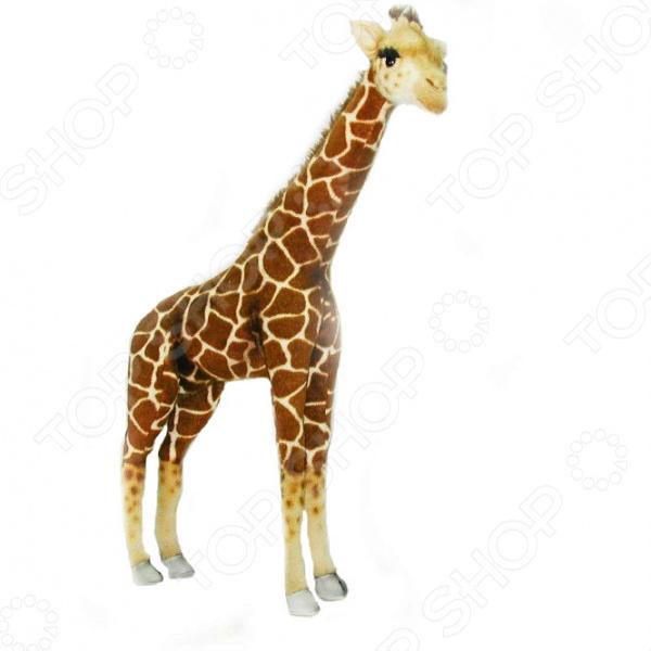 Мягкая игрушка Hansa «Жираф» 3610 мягкие игрушки hansa жираф 38 см