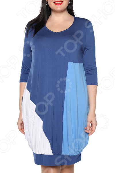 Платье «Море любви». Цвет: синий