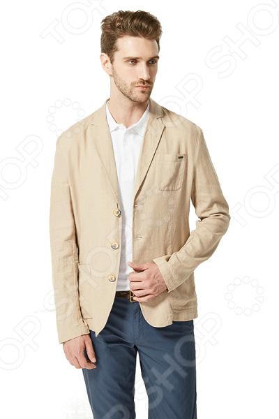 Пиджак Finn Flare S16-24003. Цвет: бежевый