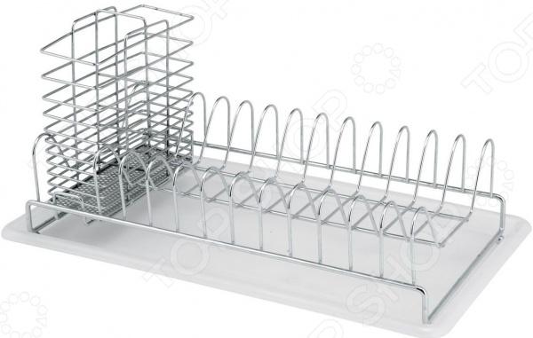 Сушилка для посуды настольная Esprado Platinos 0034911E212 двухъярусная угловая полка esprado platinos 0012534e205