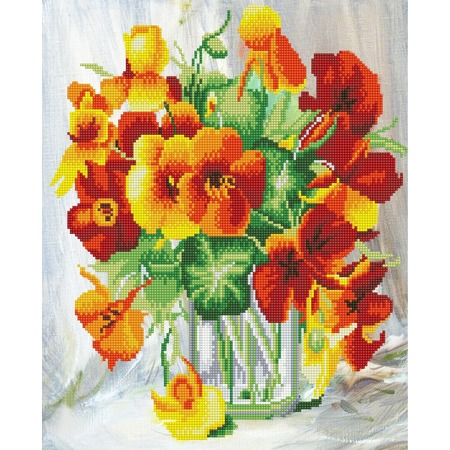 Купить Набор для творчества Color Kit «Алмазная мозаика». Рисунок: «Оранжевое чудо»
