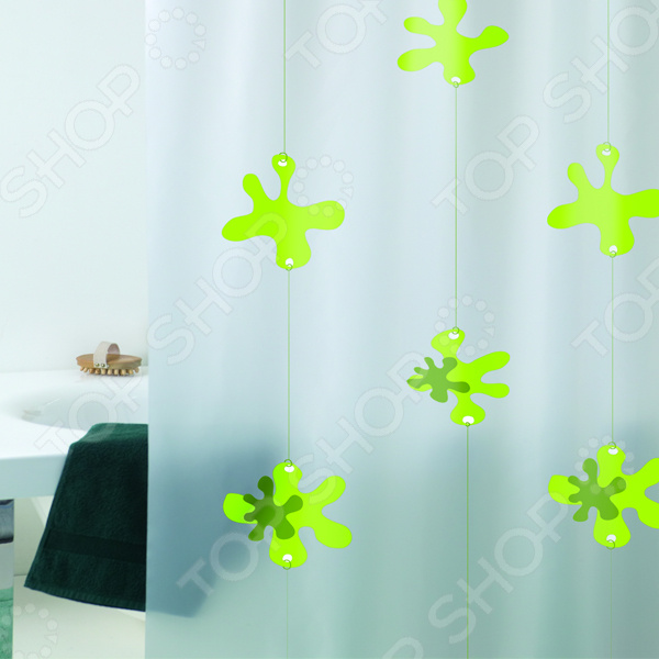 Штора для ванной Bacchetta Spot