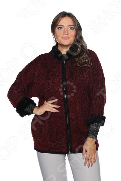 Жакет Milana Style «Стихии любви». Цвет: винный платье milana style milana style mi038ewxjv28