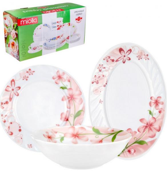 Сервиз столовый Miolla «Нежность цветов» miolla нежность c7292 6