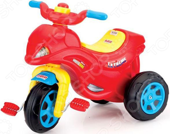 Велосипед трехколесный Dolu в виде мотоцикла