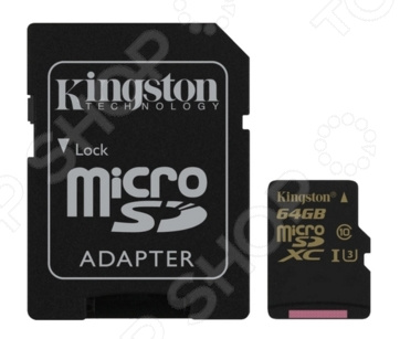 Карта памяти Kingston SDCG/64GB карта памяти kingston sdc10 16gbsp